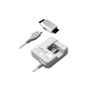 ・家庭用AC電源からガラケー・スマートフォンのバッテリーを充電するAC充電器 ・100V〜240V対...