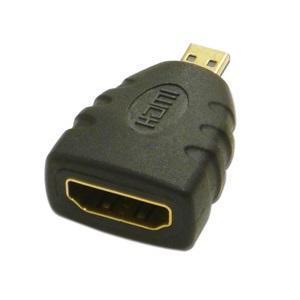 ・HDMIケーブルをHDMIマイクロコネクタに変換します。