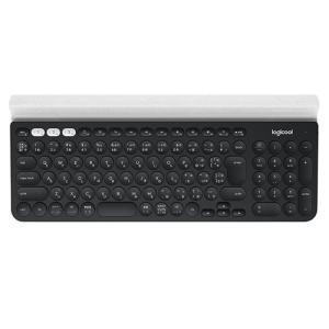 LOGICOOL ロジクール K780 マルチデバイスキーボード K780 ブラック/ホワイト