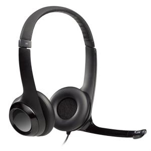 LOGICOOL ロジクール USBヘッドセット H390r H390r ブラック|ksdenki