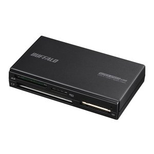 バッファロー UHS−II対応 USB3.0マルチカードリーダー BSCR700U3BK ブラック ksdenki
