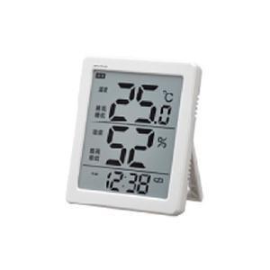 ノア精密 デジタル温度湿度計 N-026 WH|ksdenki