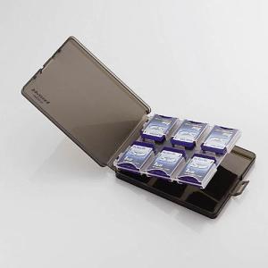 エレコム SDメモリカードケース CMC-06SD|ksdenki