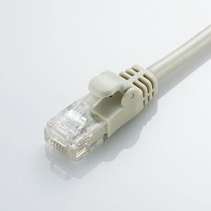 エレコム やわらかLANケーブル/CAT6/2m/ライトグレー LD-GPY/LG2