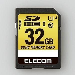 エレコム SDHCカード MF-CASD032GU11 容量:32GB (アウトレット)|ksdenki