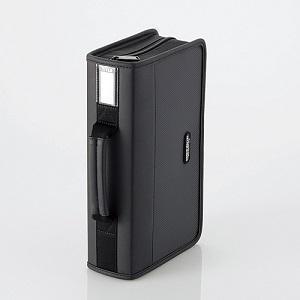 エレコム CD/DVDケース CCD-SS96BK ブラック|ksdenki