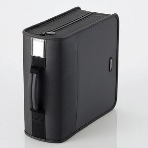 エレコム CD/DVDケース CCD-SS320BK ブラック|ksdenki