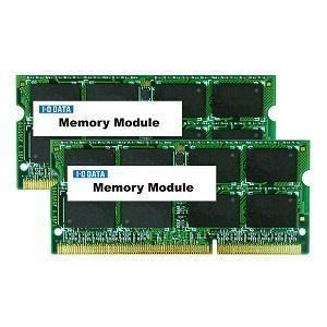 (アウトレット) アイ・オー・データ機器 ノートPC用 DDR3メモリー4GB×2 SDY1600-4GX2 ksdenki