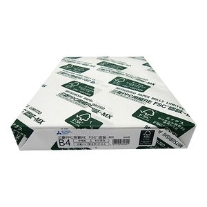 三菱製紙 コピー用紙 RE-FSC-MX B4 500枚|ksdenki