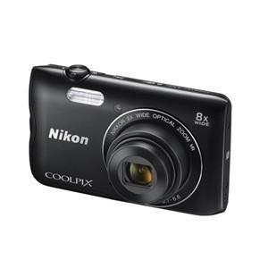ニコン デジタルカメラ COOLPIX(クールピクス) COOLPIX-A300(BK) ブラック (アウトレット)|ksdenki