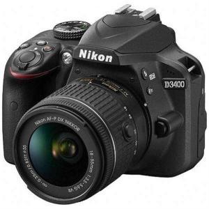 (アウトレット) ニコン 一眼レフカメラ 1本レンズキット(標準ズーム) D3400LK(BK) ブラック