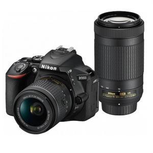 ニコン 一眼レフカメラ 2本レンズキット(標準ズーム+望遠ズーム) D5600WZ