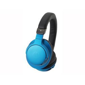 (アウトレット) オーディオテクニカ Bluetoothヘッドホン ATH-AR5BT BL ターコイズブルー|ksdenki