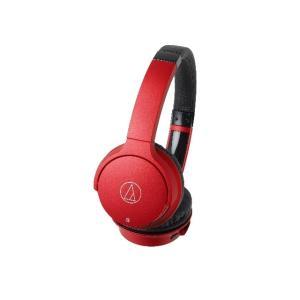 オーディオテクニカ Bluetoothヘッドホン ATH-AR3BT RD レッド