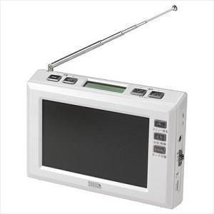 ヤザワコーポレーション 4.3インチワンセグラジオ TV03WH ホワイト 画面サイズ:4.3v型|ksdenki