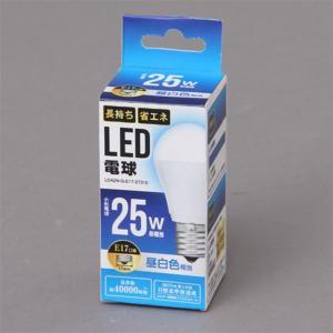 アイリスオーヤマ LED電球 LDA2N-G-E17-2T310 昼白色 一般電球25W形相当/E17口金|ksdenki