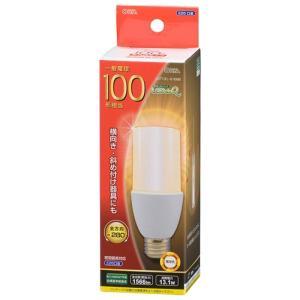 オーム LED電球 LDT13L-G IG92 電球色 一般電球100W形相当/E26口金 ケーズデンキ PayPayモール店