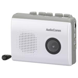 Audio Comm 録音再生カセットレコーダ CAS-610Z ksdenki