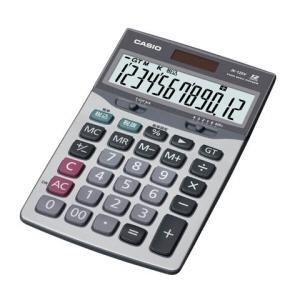 カシオ計算機 電卓 JK-120V-N グレー