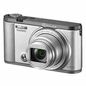 カシオ計算機 高倍率コンパクトカメラ EX-ZR1700SR シルバー