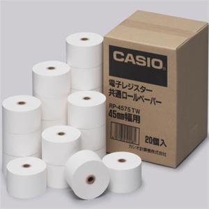 カシオ計算機 レジスター用紙 RP-4575TW|ksdenki
