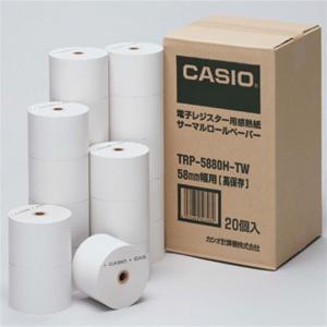 カシオ計算機 レジスター用紙 TRP-5880H-TW|ksdenki