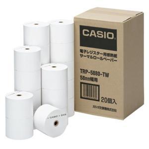 カシオ計算機 レジスター用紙 TRP-5880-TW|ksdenki