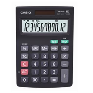カシオ計算機 電卓 MK-12BK-N|ksdenki