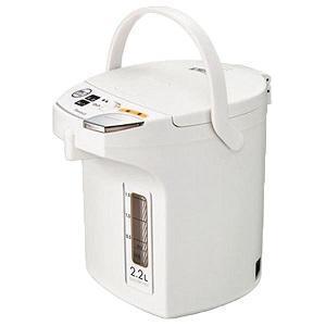 ピーコック魔法瓶 電動給湯ポット2.2L WMJ-22 W ホワイト