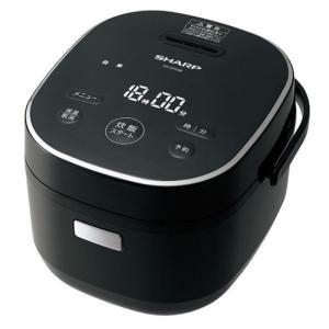 シャープ マイコン炊飯器 KS-CF05B-B ブラック系 炊飯容量:3合