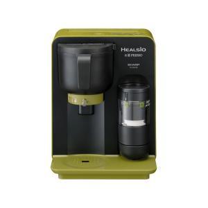 【アウトレット】シャープ お茶メーカー TE-GS10B-G グリーン系|ksdenki