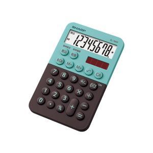 シャープ 電卓 EL-760R-GX グリーン系|ksdenki