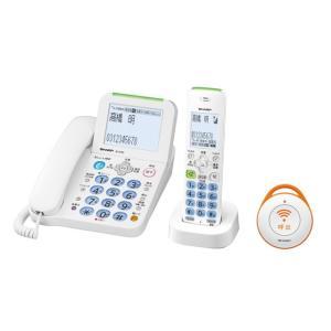 シャープ コードレス留守番電話機 JD-AT82CE ホワイト系|ksdenki