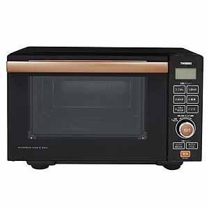 【アウトレット】ツインバード工業 フラットオーブンレンジ DR-E851BR ブラウン|ksdenki