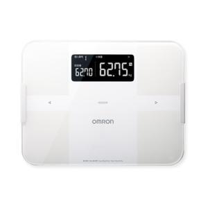 オムロン 体組成計(Bluetooth)50g単位 HBF-255T-W ホワイト|ksdenki