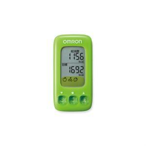 オムロン 活動量計(ごほうびカロリー) HJA-314-G グリーン|ksdenki