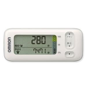 オムロン 活動量計(階段上り/早歩き) HJA-404-W ホワイト|ksdenki
