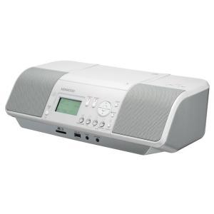 ケンウッド iPhone/iPod対応 CD/USBシステム CLX-30-W ホワイト|ksdenki