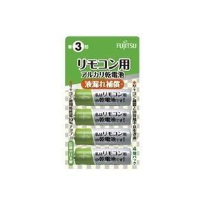 (アウトレット) FDK アルカリ乾電池 単3形4個パック LR6REMOCON(4B)|ksdenki