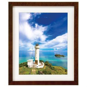 ハクバ写真産業 額縁 6切 FWMM01-BR6 ブラウン|ksdenki