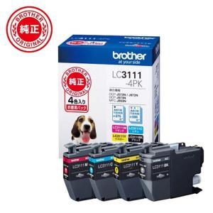 ブラザー工業 インクカートリッジ 4色パック LC3111-4PK|ksdenki