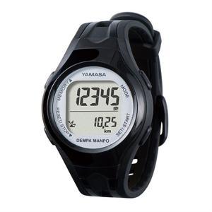 山佐時計計器 腕時計型歩数計(電波時計内蔵)小型軽量 TM-450B/S ブラック×シルバー ksdenki