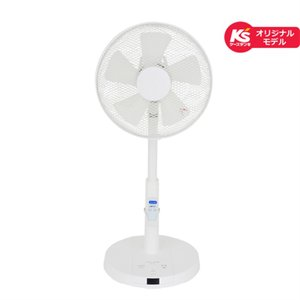 ユアサプライムス リモコン式リビング扇風機 KS-F31MR-W 【ケーズデンキオリジナルモデル】|ケーズデンキ PayPayモール店