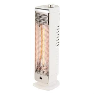 (アウトレット) 小泉 電気ストーブ(カーボンヒーター・人感センサー) KKH-0480/W ホワイト|ksdenki