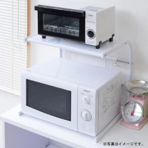 山善 レンジ上ラック KKR-40(IV) アイボリー