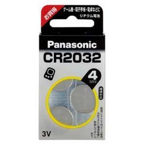 パナソニック リチウムコイン電池 CR-2032/4H