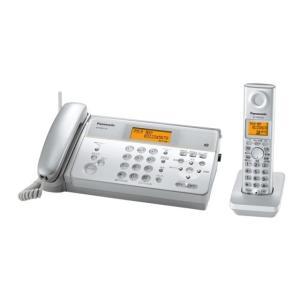 パナソニック デジタルコードレス感熱紙ファクス KX-PW211DL-S シルバー
