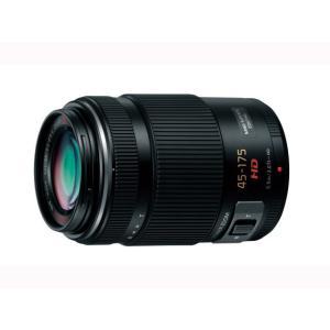 パナソニック 交換用レンズ マイクロフォーサーズ H-PS45175-K ブラック