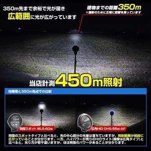 船 サーチライト LED 60w 24v 12v 兼用 広角タイプ 防水 ボートの前照灯 450m照射 ksgarage 03