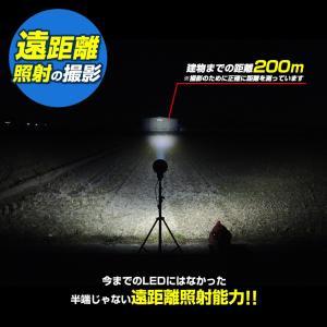 船 サーチライト LED 60w 24v 12v 兼用 スポットタイプ 防水 ボートの前照灯 600m照射|ksgarage|02